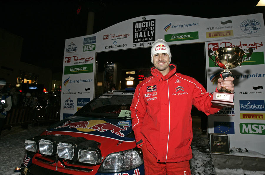 Raikkonen's rally pace impresses