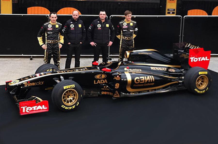 Lotus Renault GP F1 car launched