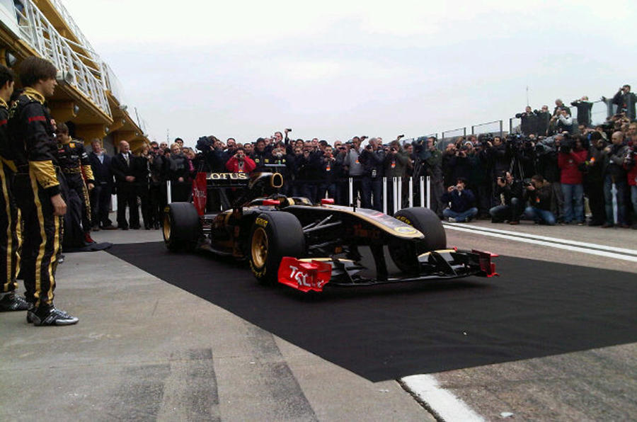 Lotus Renault GP F1 car launched
