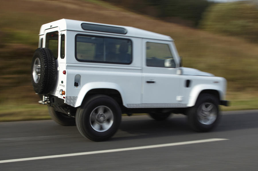 Land Rover Defender side profile