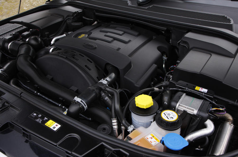 3.0-litre V6 Land Rover Discovery diesel engine