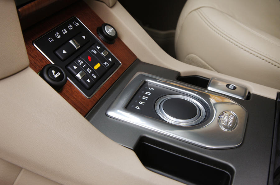 Land Rover Discovery automatic gearbox