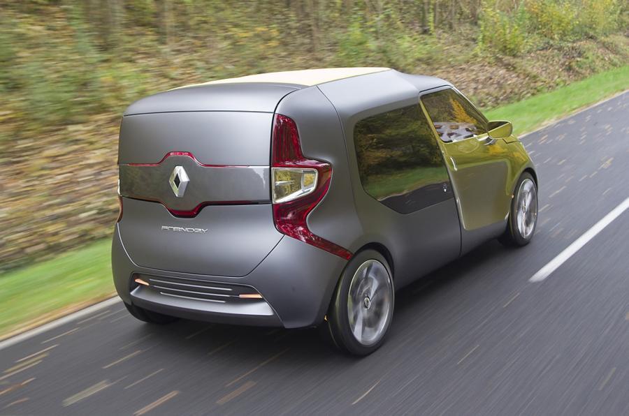 Renault Frendzy rear