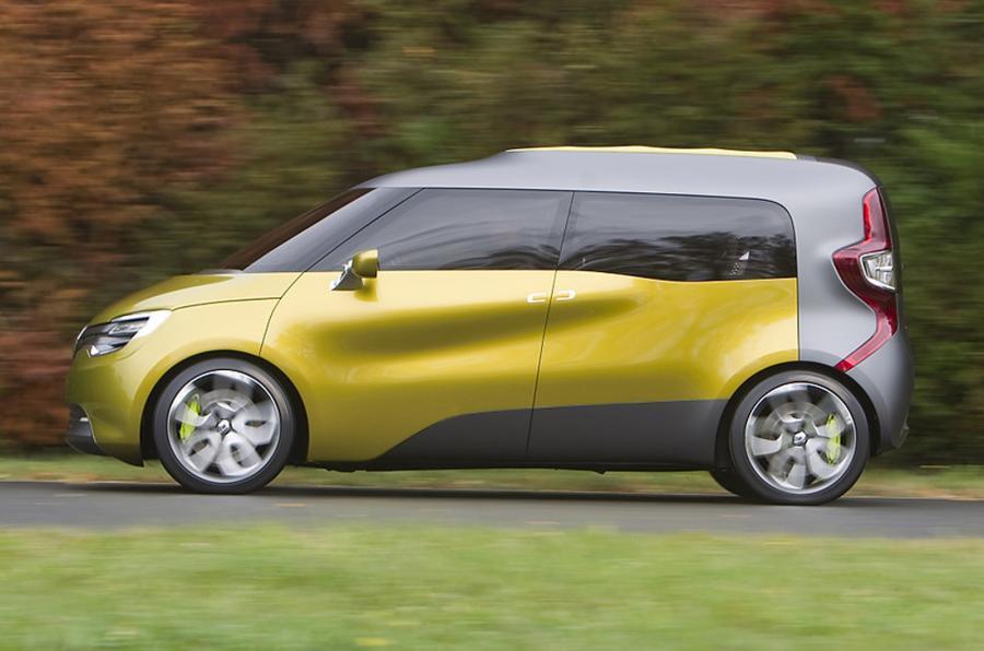 Renault Frendzy side profile