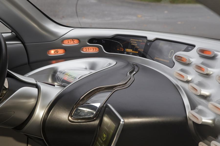 Renault Frendzy dashboard