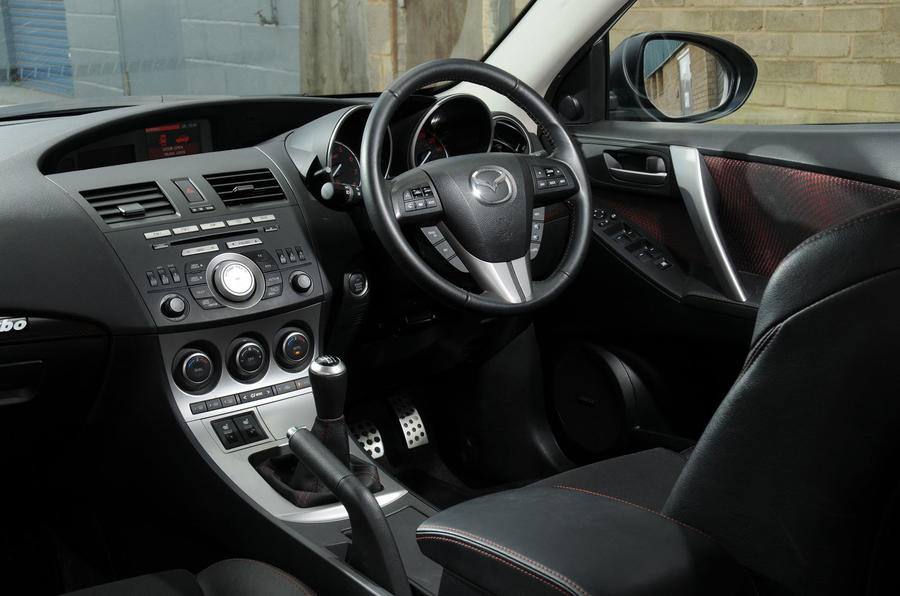 Mazda 3 MPS BBR 320 dashboard