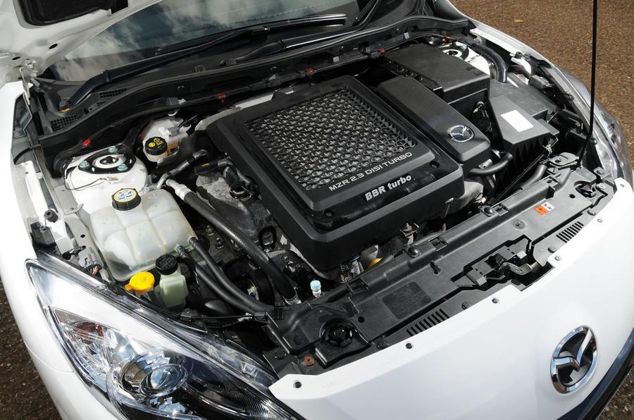 2.3-litre Mazda 3 MPS BBR 320 engine