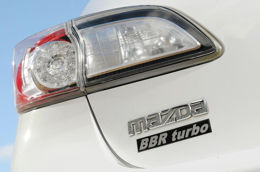 Mazda 3 MPS BBR 320 tailight