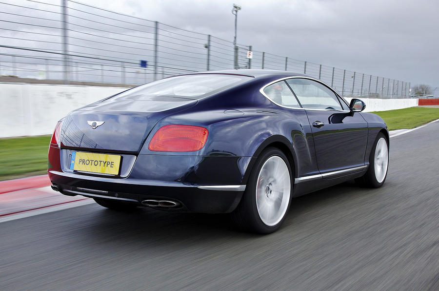 Bentley Continental GT V8 rear