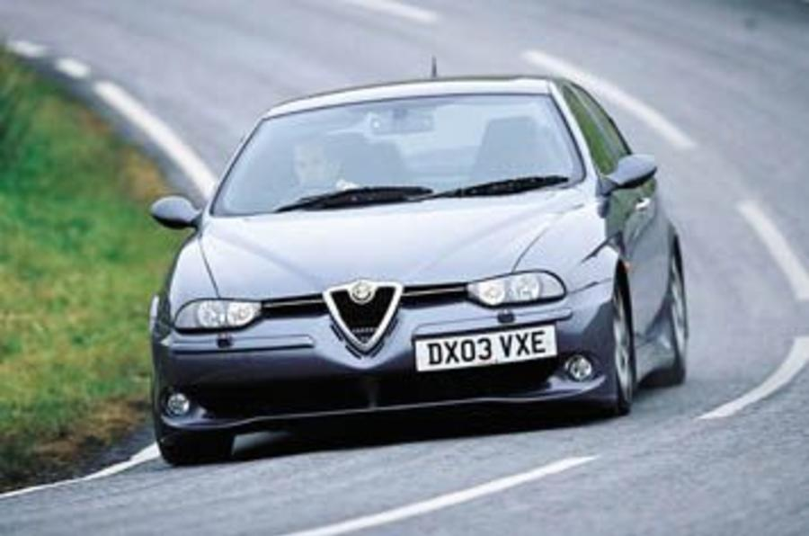 alfa romeo 156 gta evoluzione review autocar. Black Bedroom Furniture Sets. Home Design Ideas