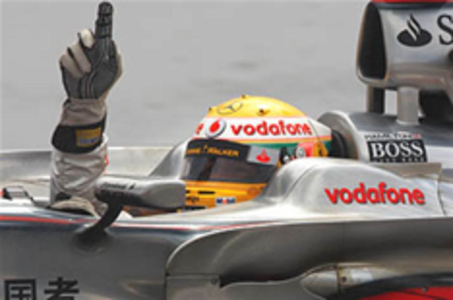 Hamilton wins in Singapore