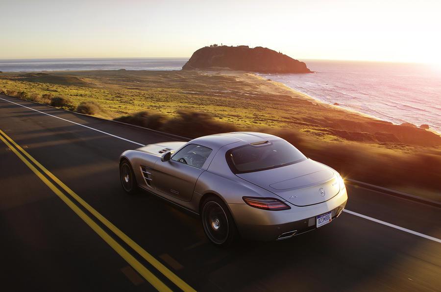 Mercedes-AMG SLS rear quarter