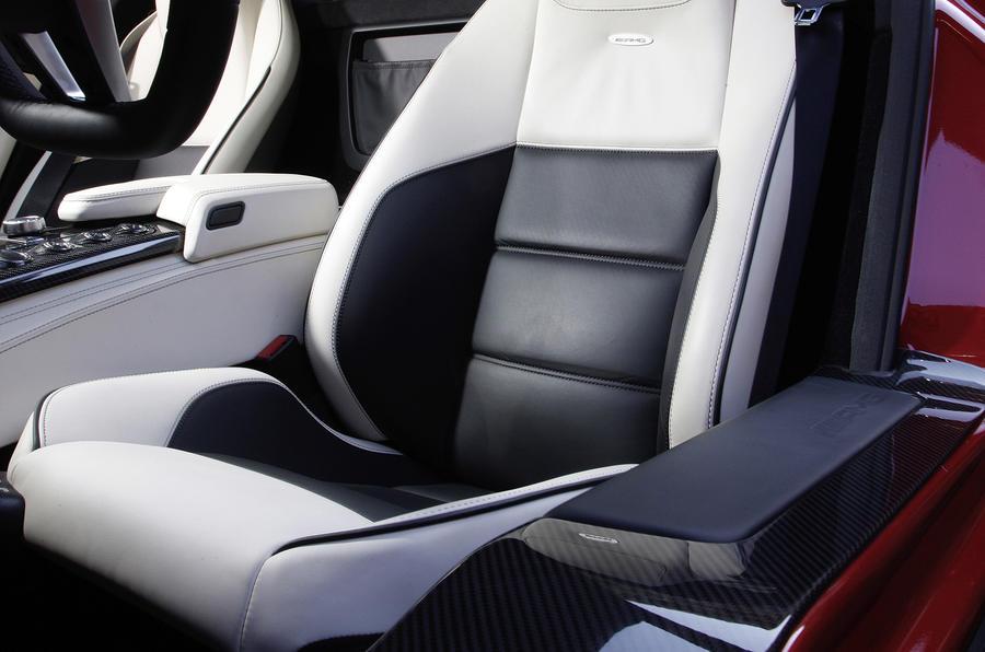 Mercedes-AMG SLS front seats