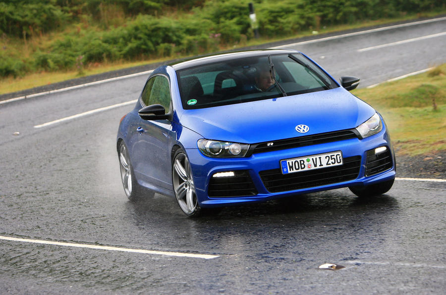 volkswagen scirocco r coupe first drive. Black Bedroom Furniture Sets. Home Design Ideas