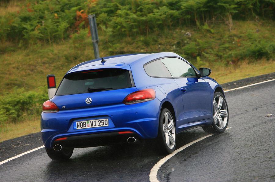 Volkswagen Scirocco R rear cornering