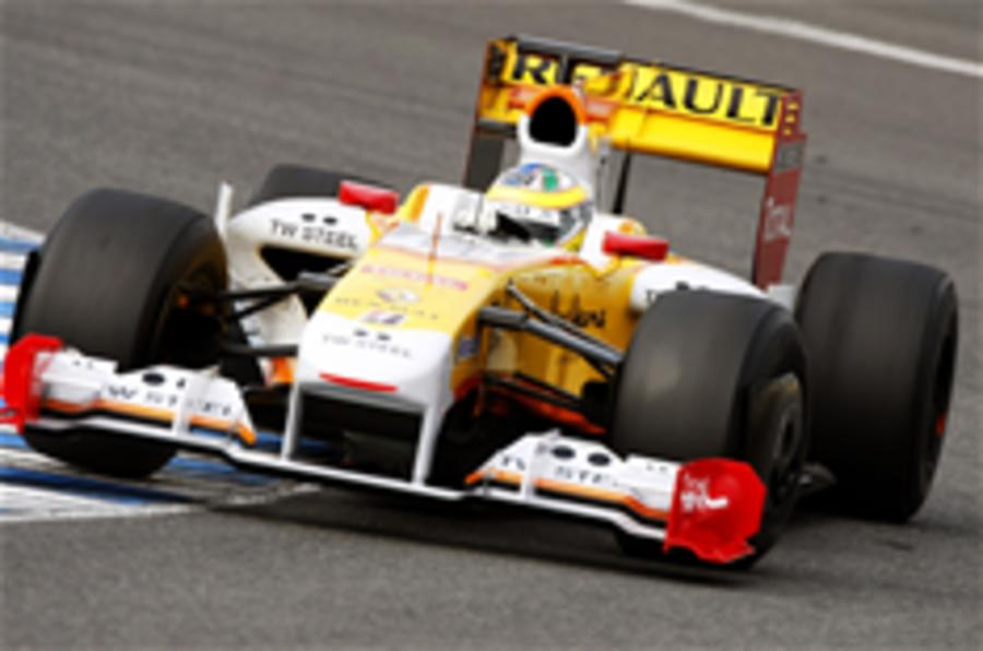 Renault commits to Formula One