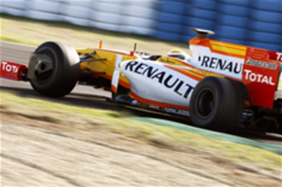 Rivals fight for Renault F1 team