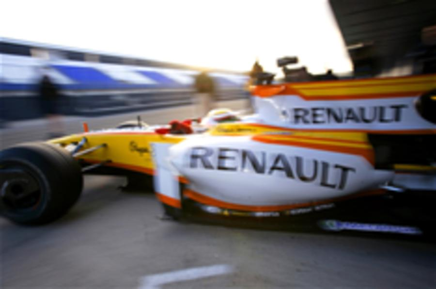 Crunch talks for Renault F1 team
