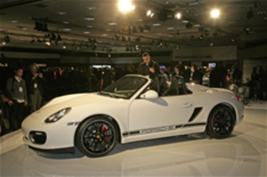LA show: Porsche Boxster Spyder