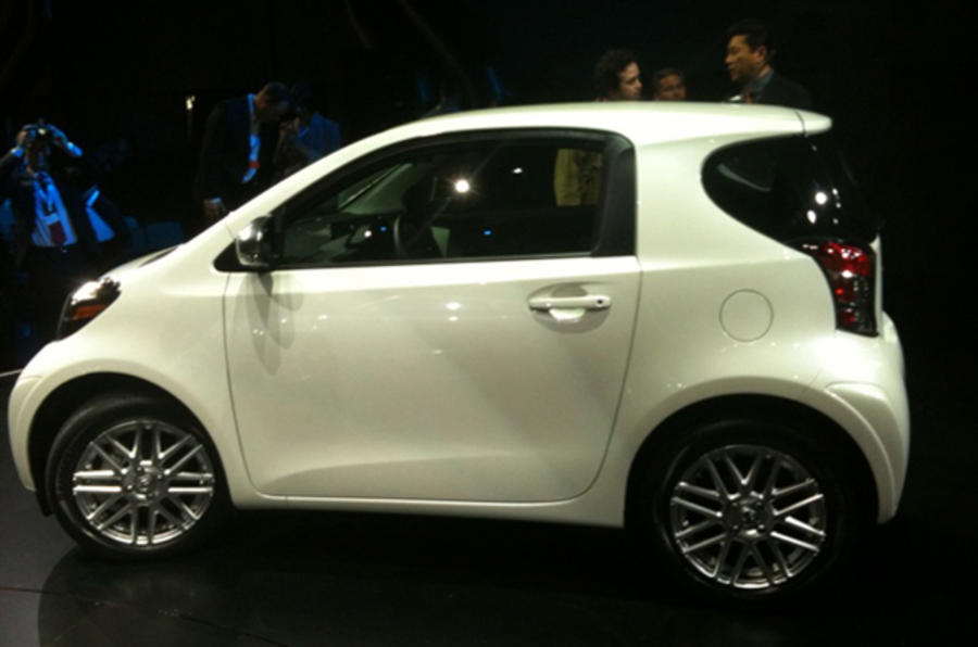 Scion iQ launched in US