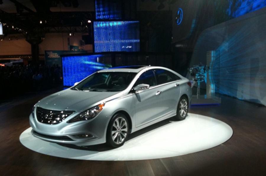 Hyundai Sonata hybrid launched