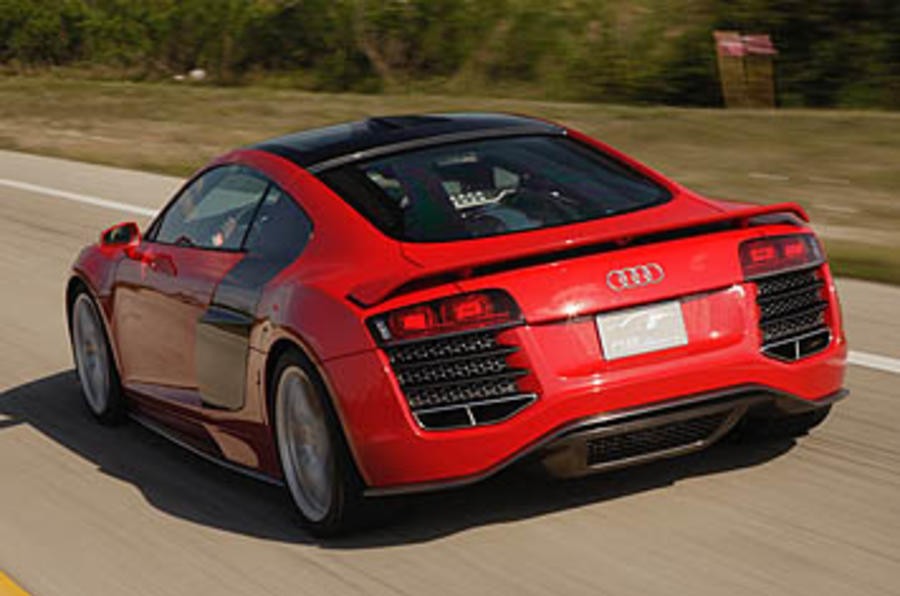 Audi R8 V12 Tdi Le Mans First Drive Review Review Autocar