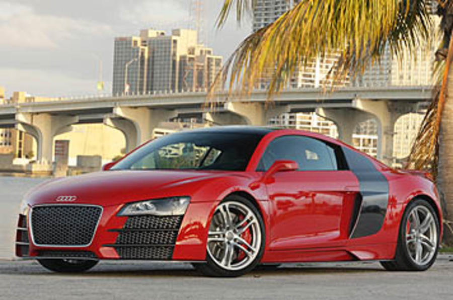 Audi R8 V12 TDi Le Mans