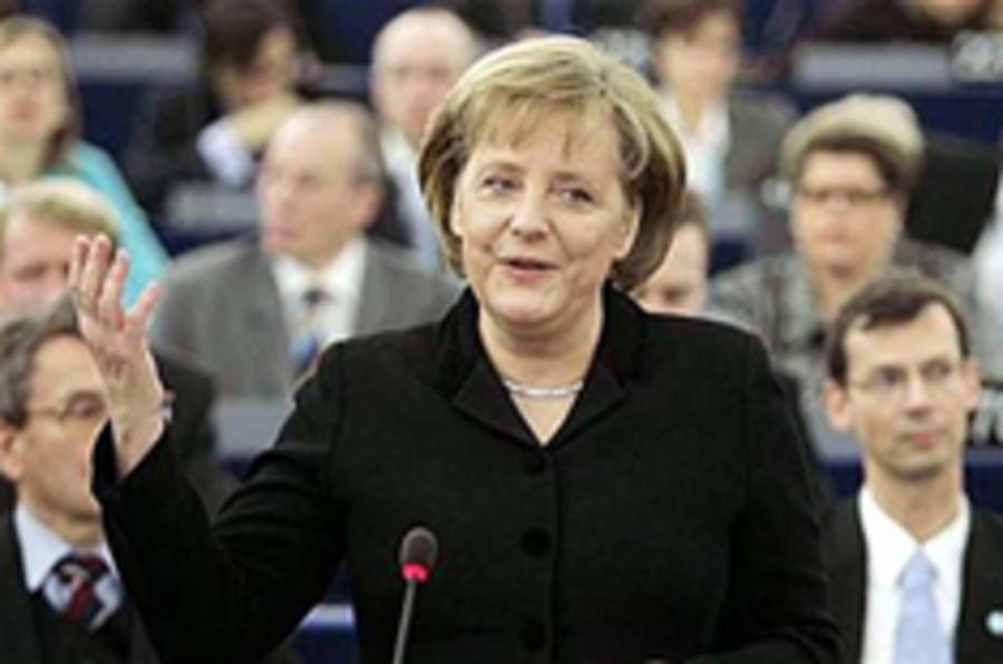 Merkel pledges bailout for Opel