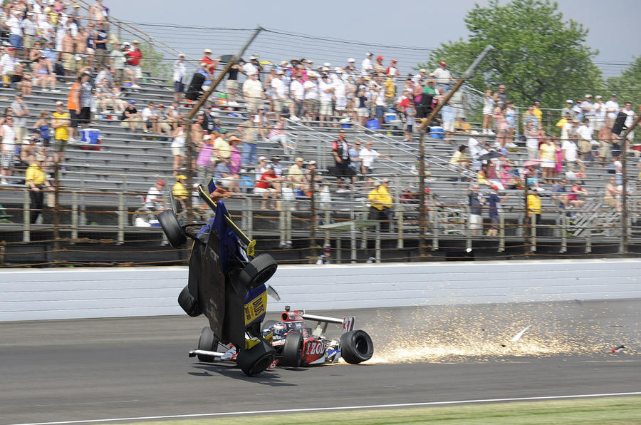 Indy crash driver - 'I'll race again'