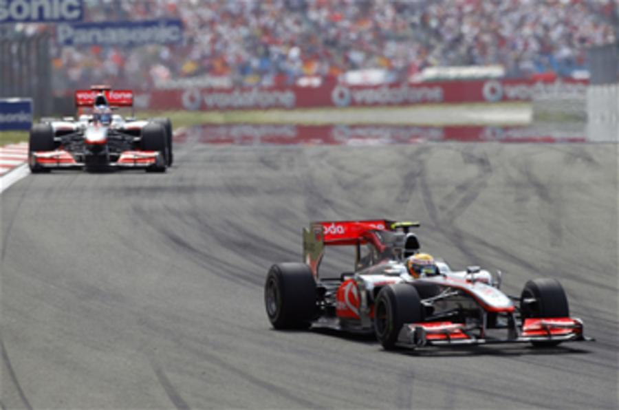 Hamilton wins Turkish GP