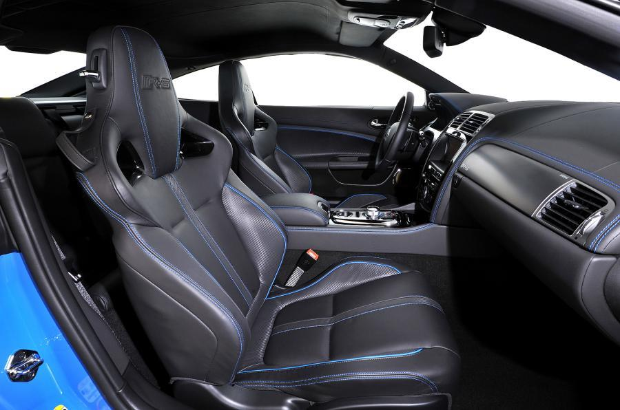 Jaguar XKR-S interior