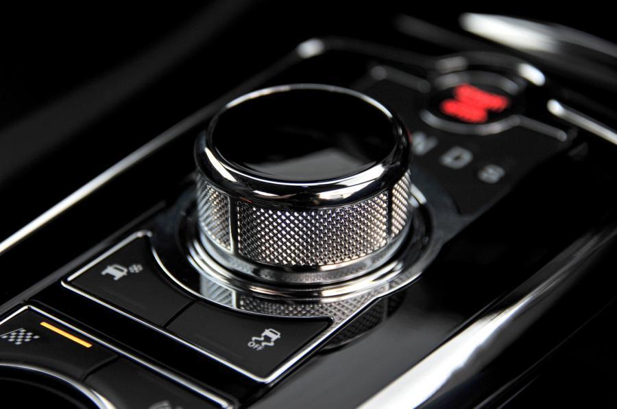 Jaguar XKR-S automatic gearbox