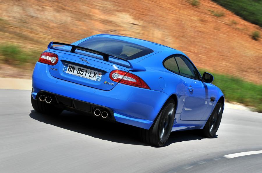 Jaguar XKR-S rear