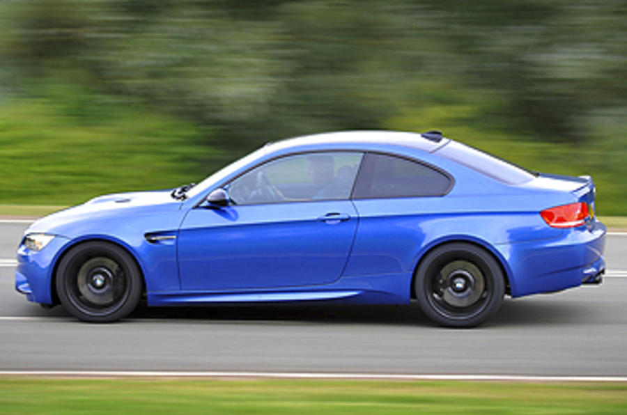 BMW M3 Coupe Edition side profile