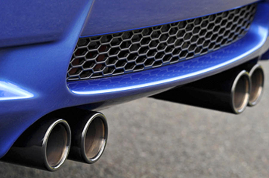BMW M3 Coupe Edition quad exhaust