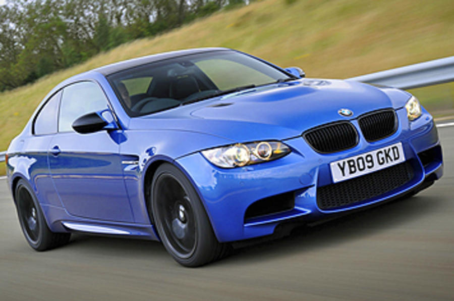 BMW M3 Coupe Edition front quarter