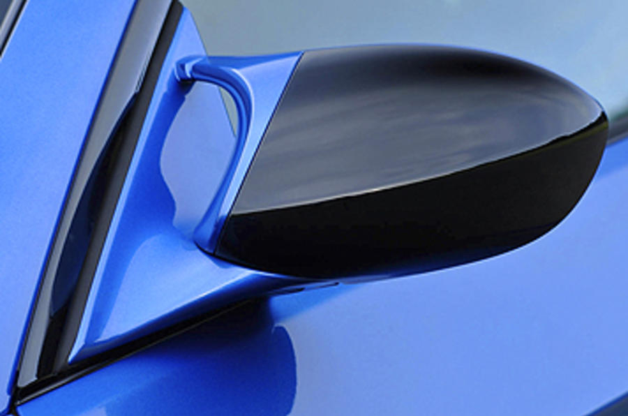 BMW M3 Coupe Edition wing mirrors