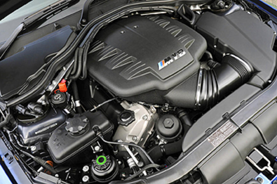 4.0-litre V8 BMW M3 Coupe Edition engine