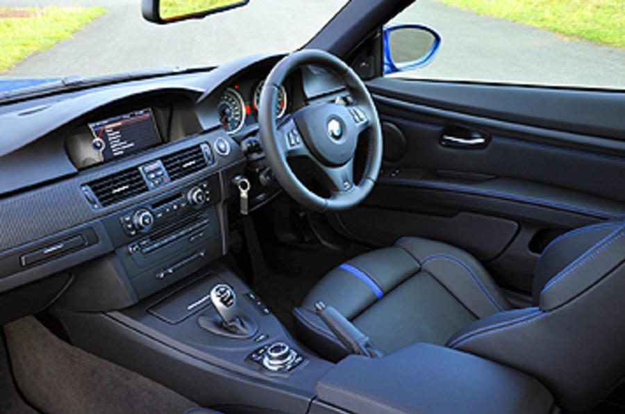 BMW M3 Coupe Edition interior