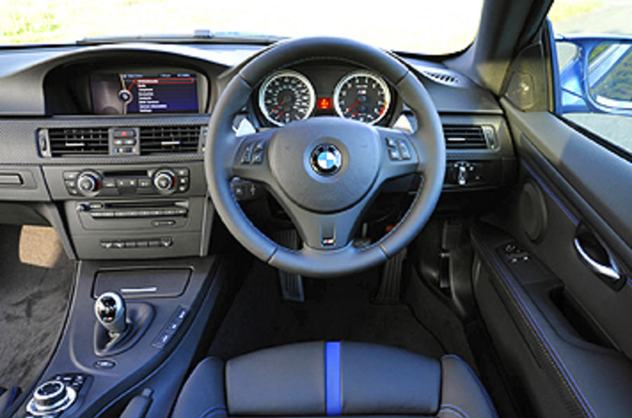 BMW M3 Coupe Edition dashboard