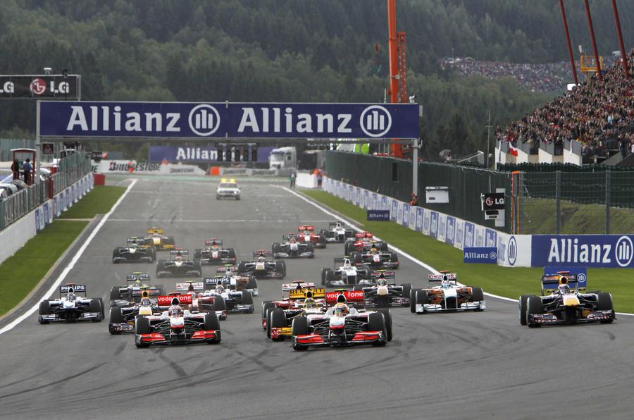Hamilton wins Belgian GP