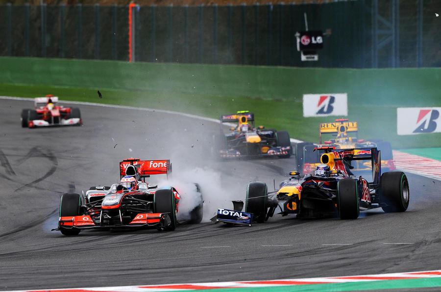 McLaren blast Vettel for crash