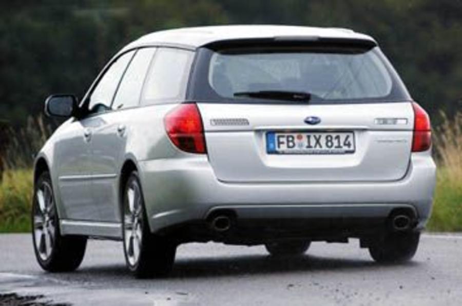 Subaru legacy specifications
