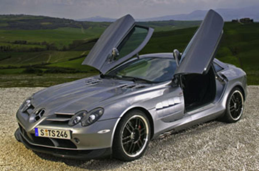 mercedes slr mclaren 722 review autocar. Black Bedroom Furniture Sets. Home Design Ideas