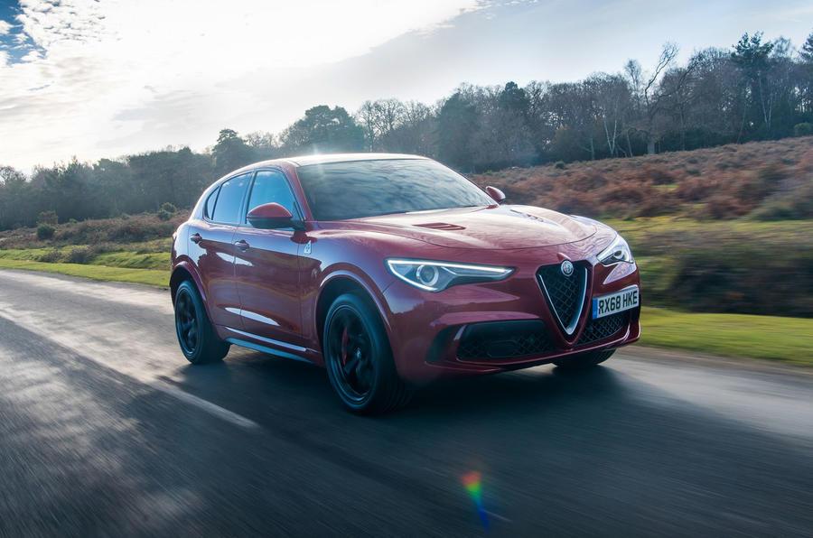 Alfa Romeo Stelvio Quadrifoglio 2019 road test review - on the road front