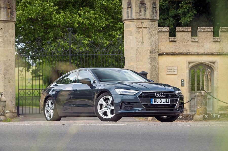 Audi A7 Sportback 2018 road test review hero static