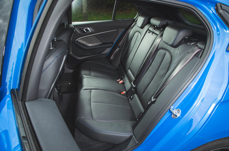 BMW 1 Series 118i 2019 road test review - rear seats