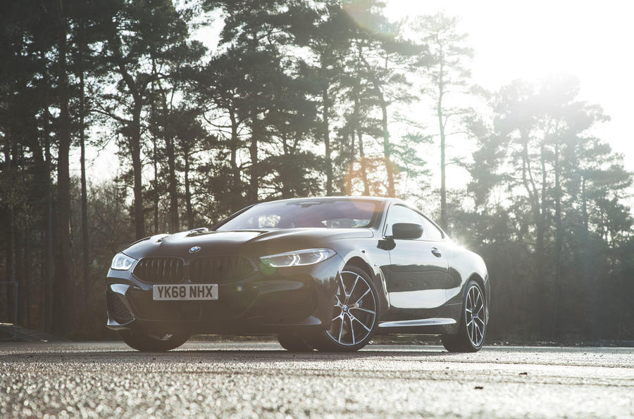 BMW 8 Series Coupé 2019 road test review - hero static