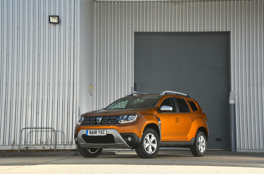 Dacia Duster 2018 road test review static