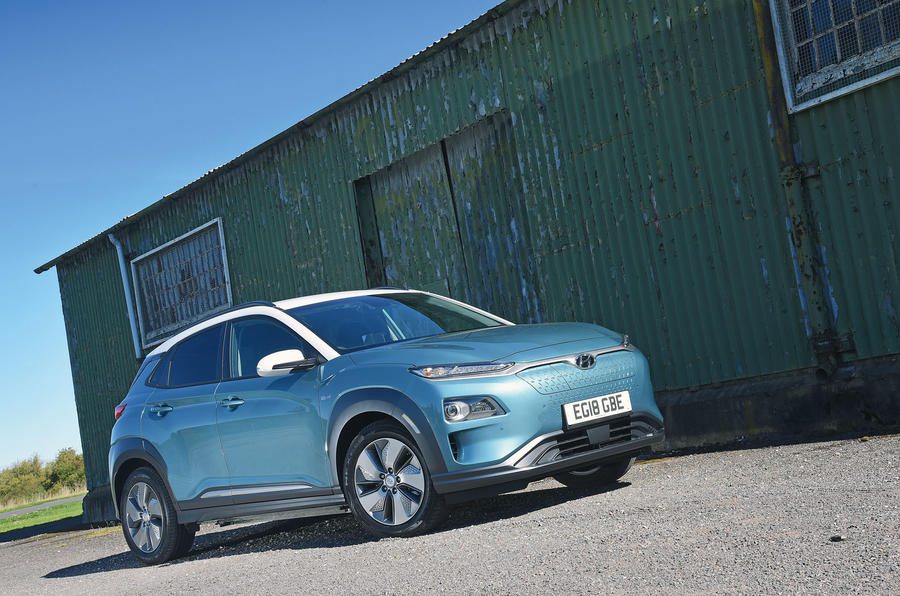 Hyundai Kona Electric 2018 road test review - hero static